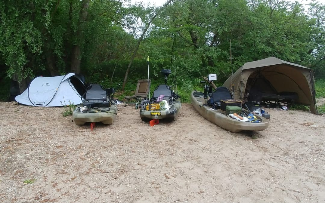 Kajak, Fischen und Outdoor – passt!